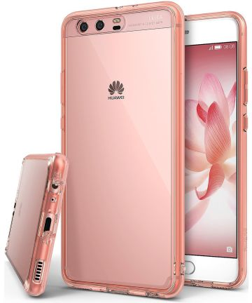 Ringke Fusion Huawei P10 Hoesje Rose Gold Hoesjes