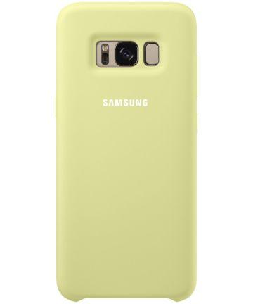 Samsung Galaxy S8 Silicone Cover Groen Origineel