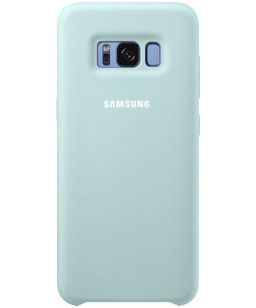 Samsung Galaxy S8 Silicone Cover Blauw Origineel