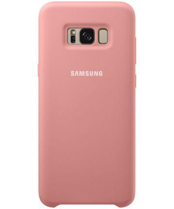 Samsung Galaxy S8 Plus Silicone Cover Roze Origineel