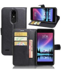 LG K10 (2017) Wallet Case Zwart