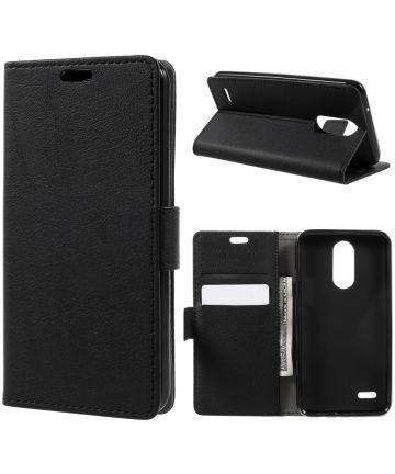 LG K4 (2017) Wallet Hoesje Zwart