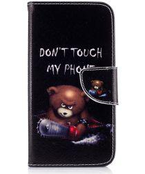 Motorola Moto G5 Plus Portemonnee Hoesje Teddy