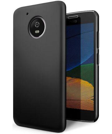 Motorola Moto G5 Back Cover Zwart