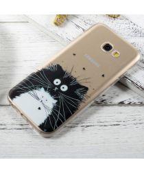 Samsung Galaxy A3 (2017) TPU Back Cover Kat Print