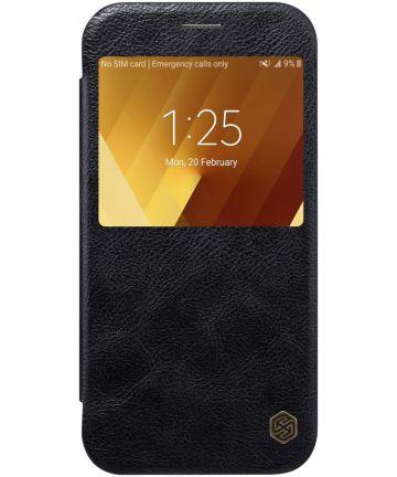 Nillkin Qin Book Case Samsung Galaxy A3 (2017) Zwart