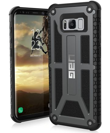 Urban Armor Gear Monarch Hoesje Samsung Galaxy S8 Plus Graphite