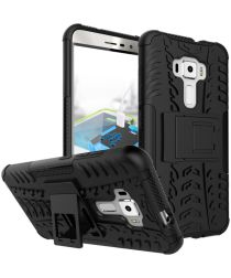 Hybride Asus Zenfone 3 (5.5) Back Cover Zwart
