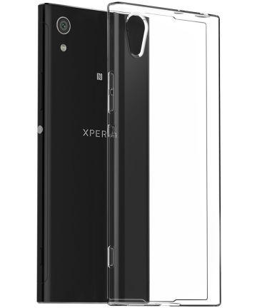 Sony Xperia XA1 Ultra Transparant Hoesje Hoesjes