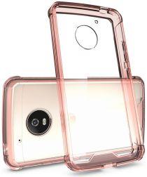 Motorola Moto G5 Hoesje Armor Backcover Roze