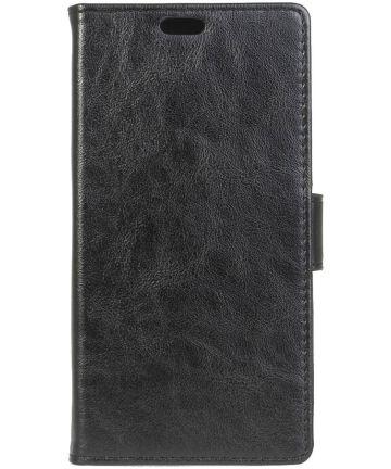 Sony Xperia XZ Premium Portemonnee Hoesje Zwart Hoesjes
