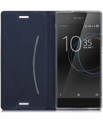 Sony Xperia XA1 Stijlvol Portemonnee Hoesje Blauw