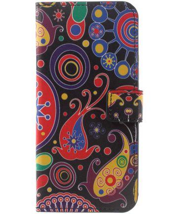 Motorola Moto G5 Plus Portemonnee Hoesje Paisley