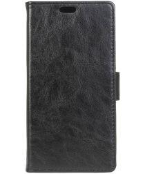 Sony Xperia L1 Portemonnee Hoesje Zwart