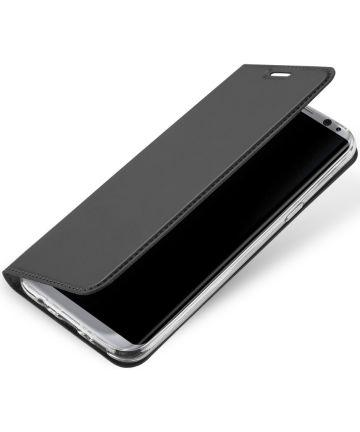 Dux Ducis Samsung Galaxy S8 Plus Bookcase Hoesje Zwart Hoesjes