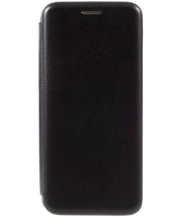 Stijlvol Samsung Galaxy S8 Portemonnee Hoesje Zwart