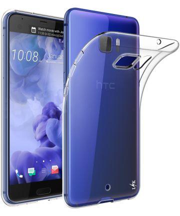 HTC U Ultra Transparant TPU Hoesje