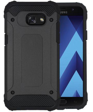 Samsung Galaxy A3 (2017) Hybrid Hoesje Zwart Hoesjes