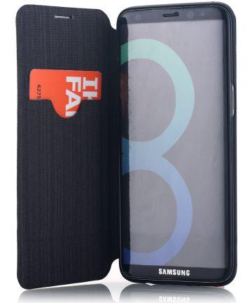Samsung Galaxy S8 G-CASE met Kaarthouder Zwart