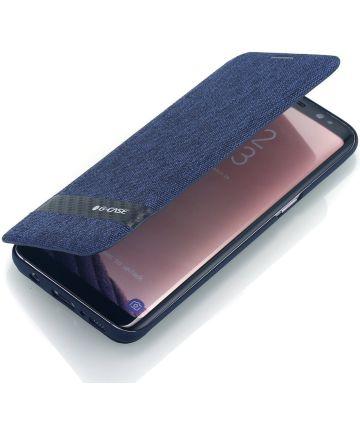 Samsung Galaxy S8 G-CASE met Kaarthouder Blauw
