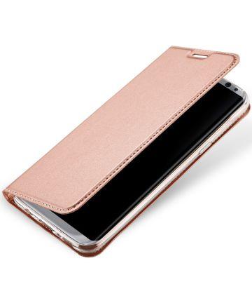 Dux Ducis Samsung Galaxy S8 Premium Bookcase Roze Goud
