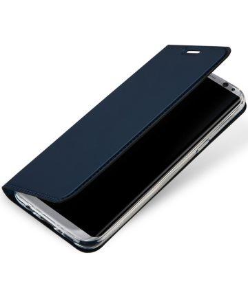 Dux Ducis Samsung Galaxy S8 Premium Bookcase Blauw Hoesjes