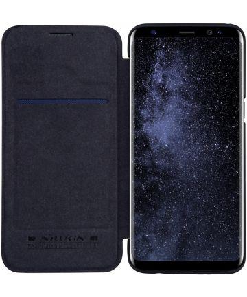 Nillkin Qin Series Flip Hoesje Samsung Galaxy S8 Zwart