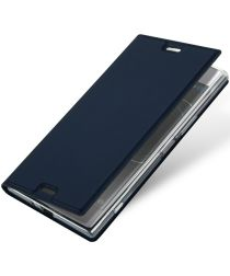Dux Ducis Sony Xperia XZ Premium Bookcase Hoesje Blauw