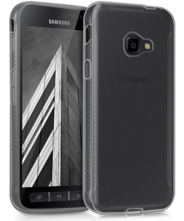 Samsung Galaxy Xcover 4/4s Transparant Hoesje Hoesjes