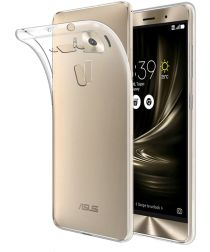 Asus Zenfone 3 (5.5) Hoesje Dun TPU Transparant