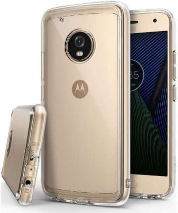 Ringke Fusion Motorola Moto G5 Plus Transparant