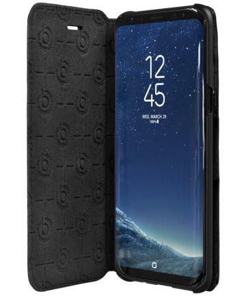 Bugatti Booklet Case Parigi Samsung Galaxy S8+ Zwart