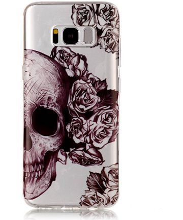 Samsung Galaxy S8 TPU Back Cover Skulls Hoesjes