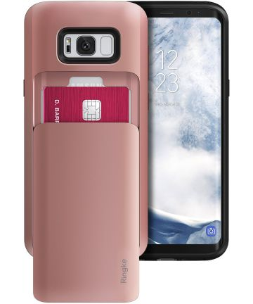 Ringke Access Wallet Case Samsung Galaxy S8 Hoesje Rose Gold