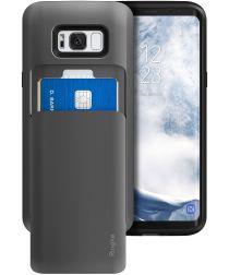 Ringke Access Wallet Case Samsung Galaxy S8 Hoesje Gun Metal