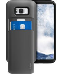 Ringke Access Wallet Case Samsung Galaxy S8 Plus Hoesje Gunmetal