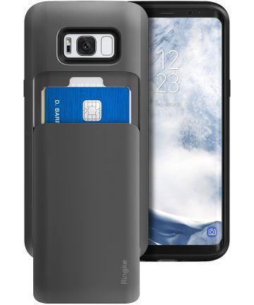 Ringke Access Wallet Case Samsung Galaxy S8 Plus Hoesje Gunmetal Hoesjes