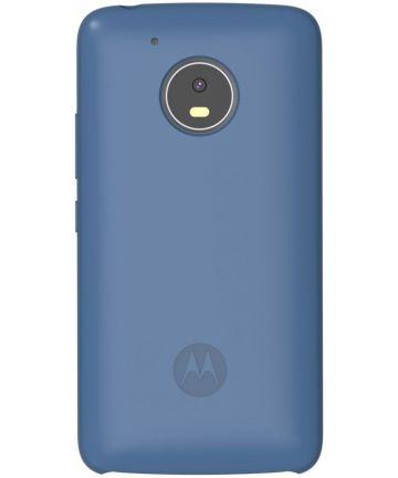Motorola Moto G5 Plus Silicone Back Cover Blauw