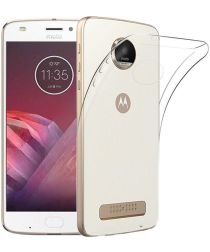 Motorola Moto Z2 Play Transparant Hoesje