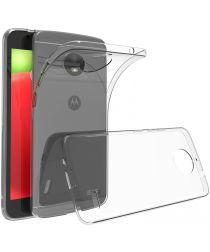 Motorola Moto E4 Transparant Hoesje