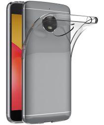 Motorola Moto E4 Plus Transparant Hoesje