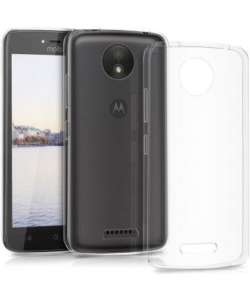 Motorola Moto C Plus Transparant Hoesje