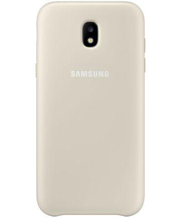 Samsung Dual Layer Cover Galaxy J5 (2017) Goud