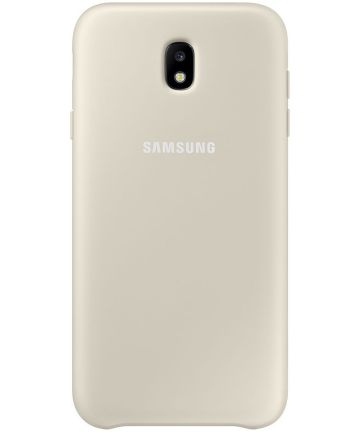 Samsung Dual Layer Cover Galaxy J7 (2017) Goud Hoesjes