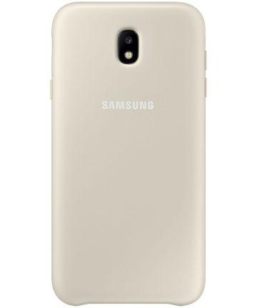 Samsung Dual Layer Cover Galaxy J7 (2017) Goud