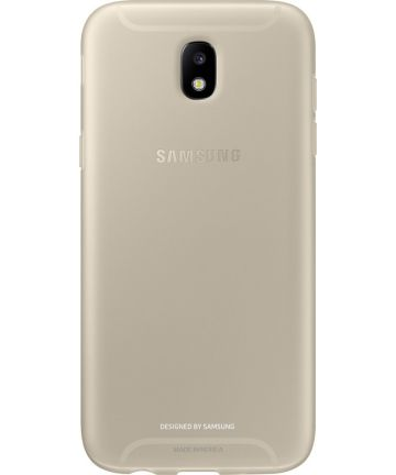 Samsung Jelly Cover Galaxy J3 (2017) Goud