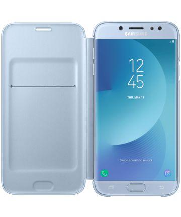 Samsung Galaxy J7 (2017) Wallet Case Blauw