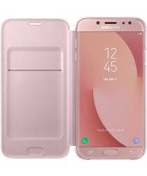 Samsung Galaxy J7 (2017) Wallet Case Roze