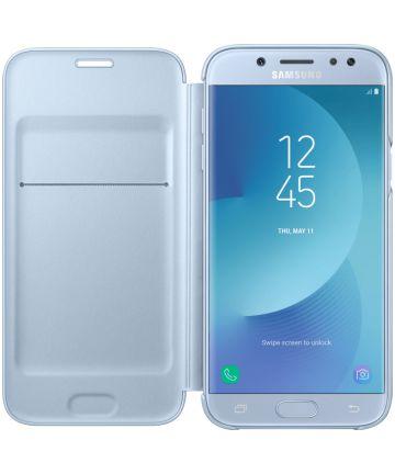 Samsung Galaxy J5 (2017) Wallet Case Blauw Hoesjes