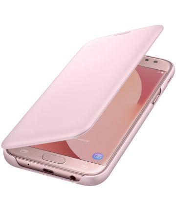 Samsung Galaxy J5 (2017) Wallet Case Roze